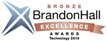 2011 Bronze Brandon Hall Excellence in Learning Technology Award for Content Authoring and/or Content Management Technology