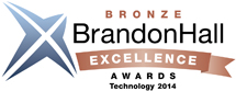 2014 Bronze Brandon Hall Excellence in Technology Award
